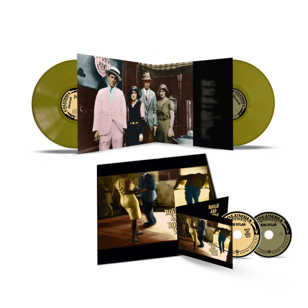 Rough And Rowdy Ways Olive Green Double Vinyl + CD