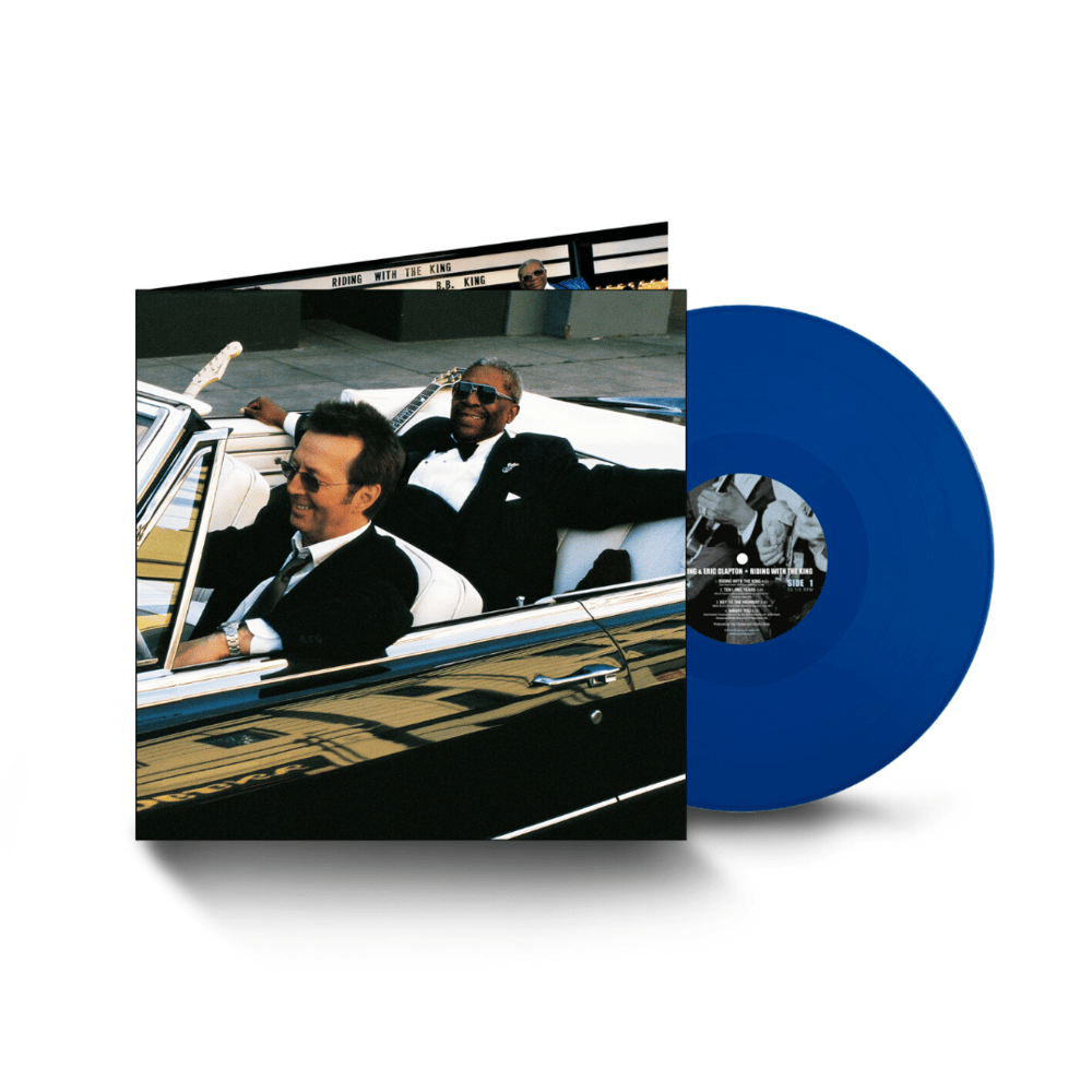 Buy Online Eric Clapton - Riding With The King (20th Anniversary) Blue