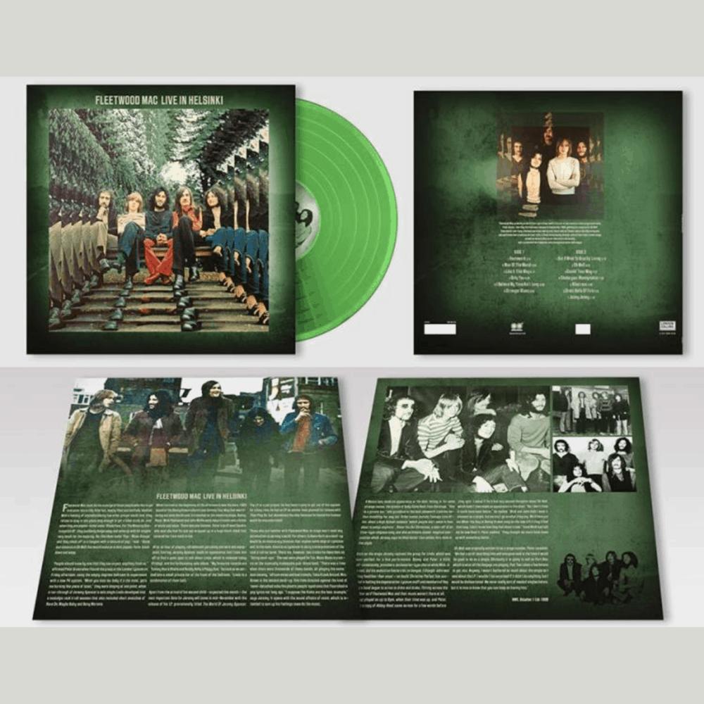 Live In Helsinki Green Heavyweight Vinyl