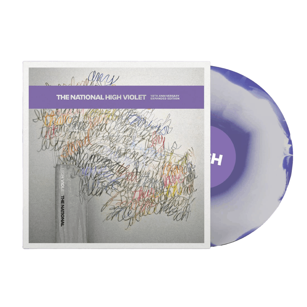 High Violet Expanded Edition Marbled Triple Vinyl