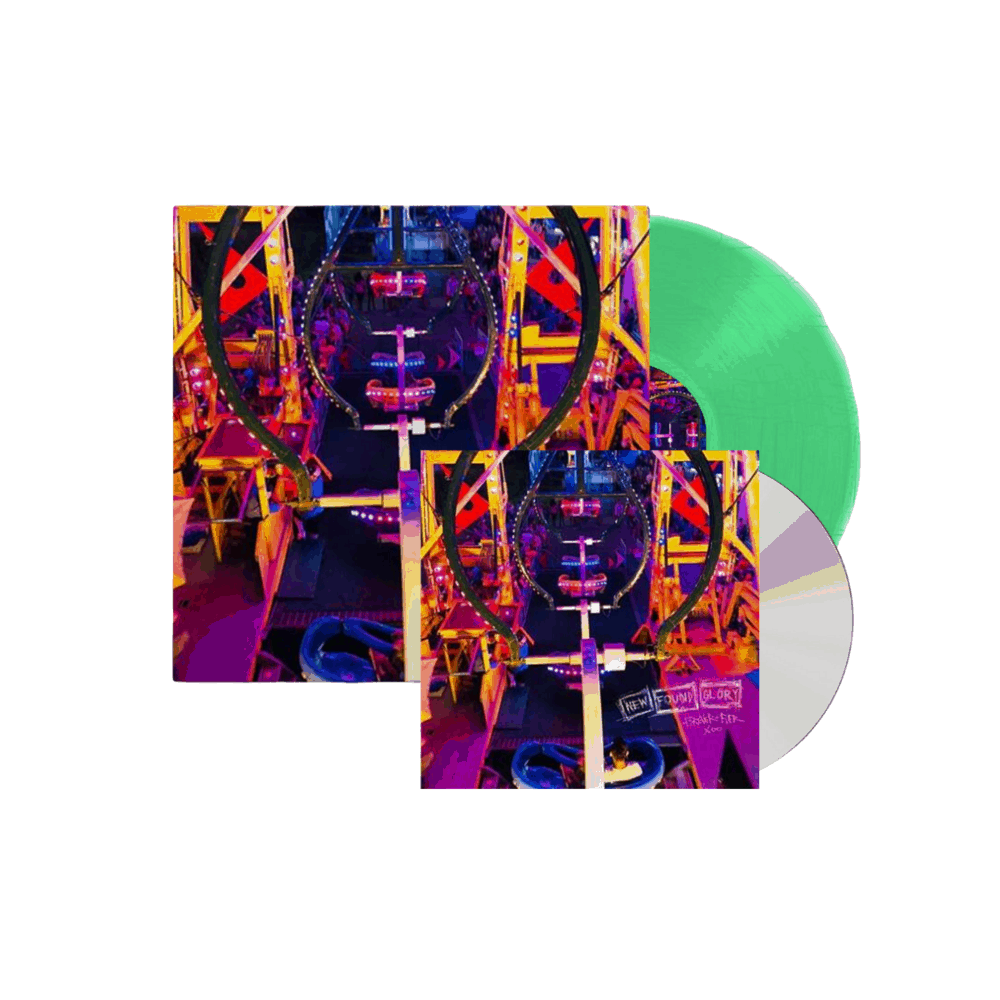 Forever And Ever x Infinity Limited Edition Translucent Green + CD