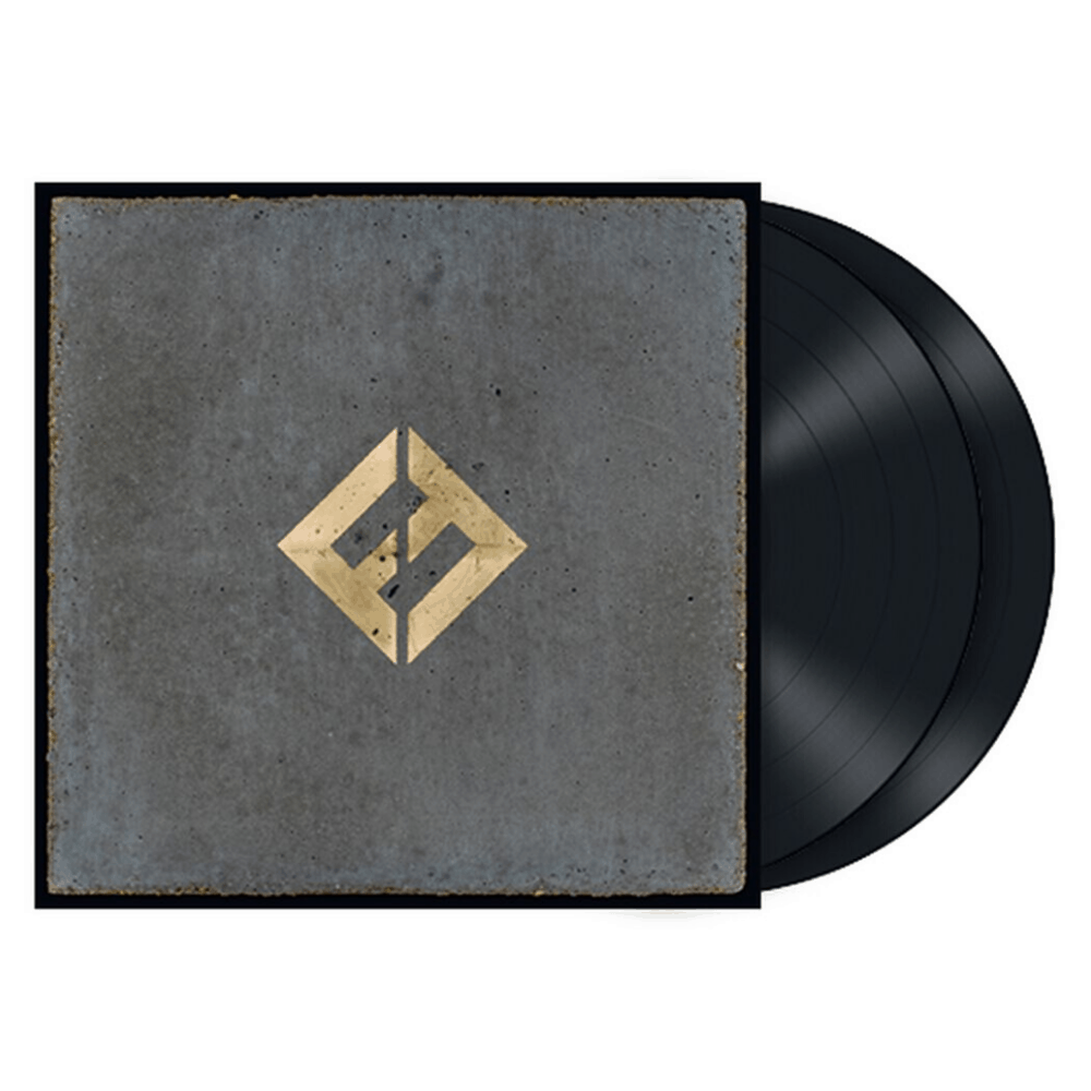 Concrete and Gold Double Vinyl