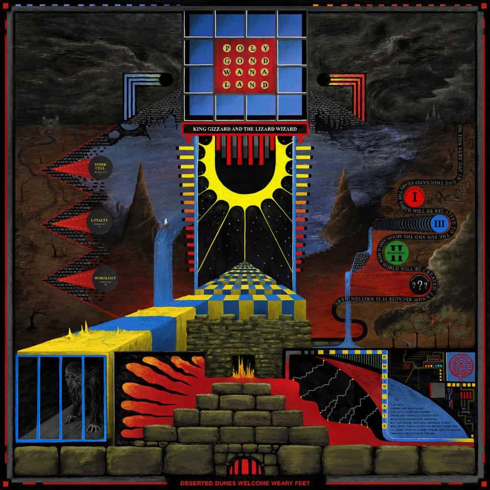 Polygondwanaland Coloured Vinyl