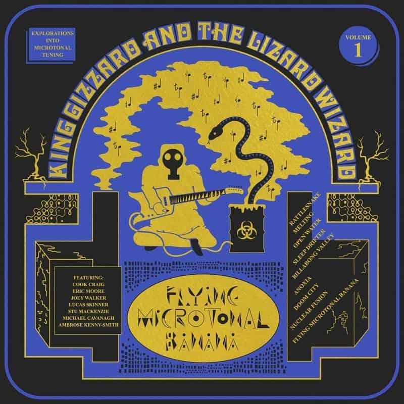 Flying Microtonal Banana Coloured Vinyl