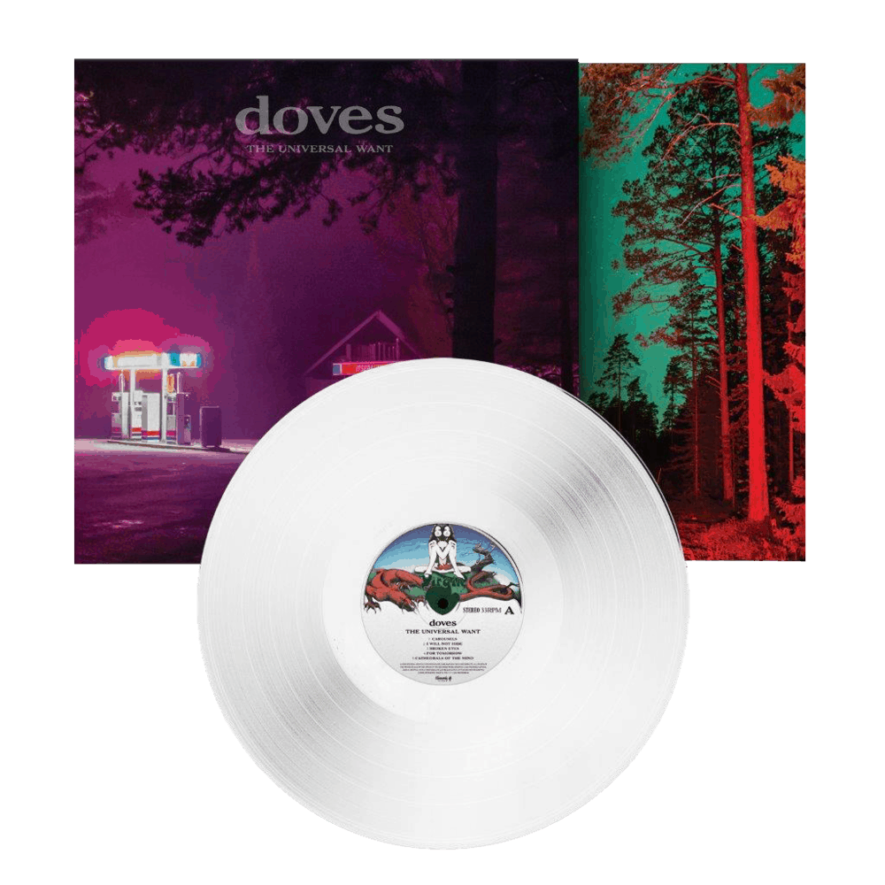 Buy Online Doves - The Universal Want White