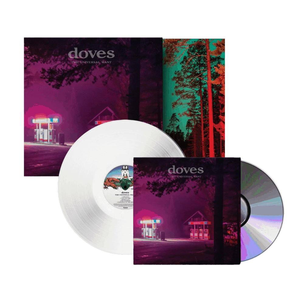 The Universal Want Limited Edition White Vinyl + CD