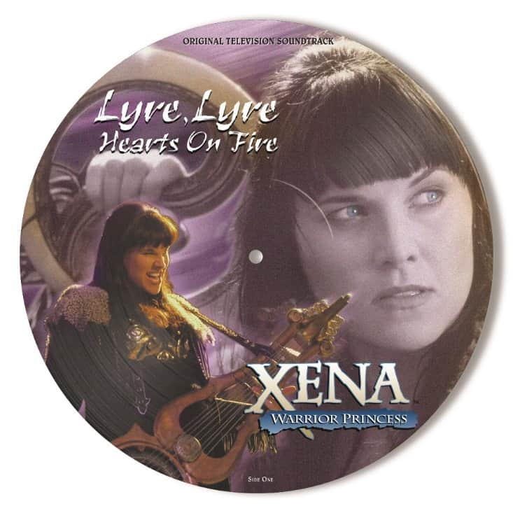 Buy Online Various Artists - Xena: Warrior Princess - Lyre, Lyre Hearts On Fire OST Picture Disc
