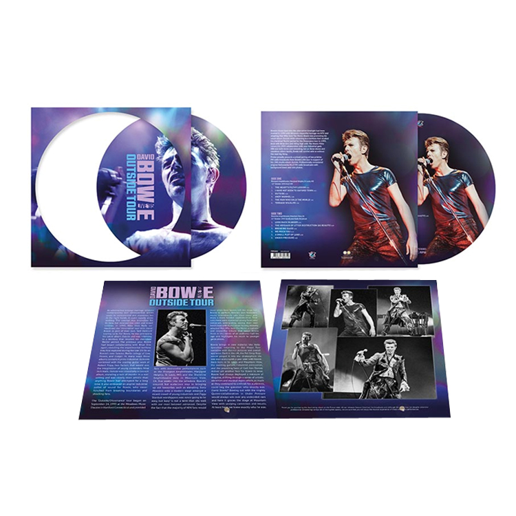Outside Tour - Live '95 Picture Disc Heavyweight Vinyl