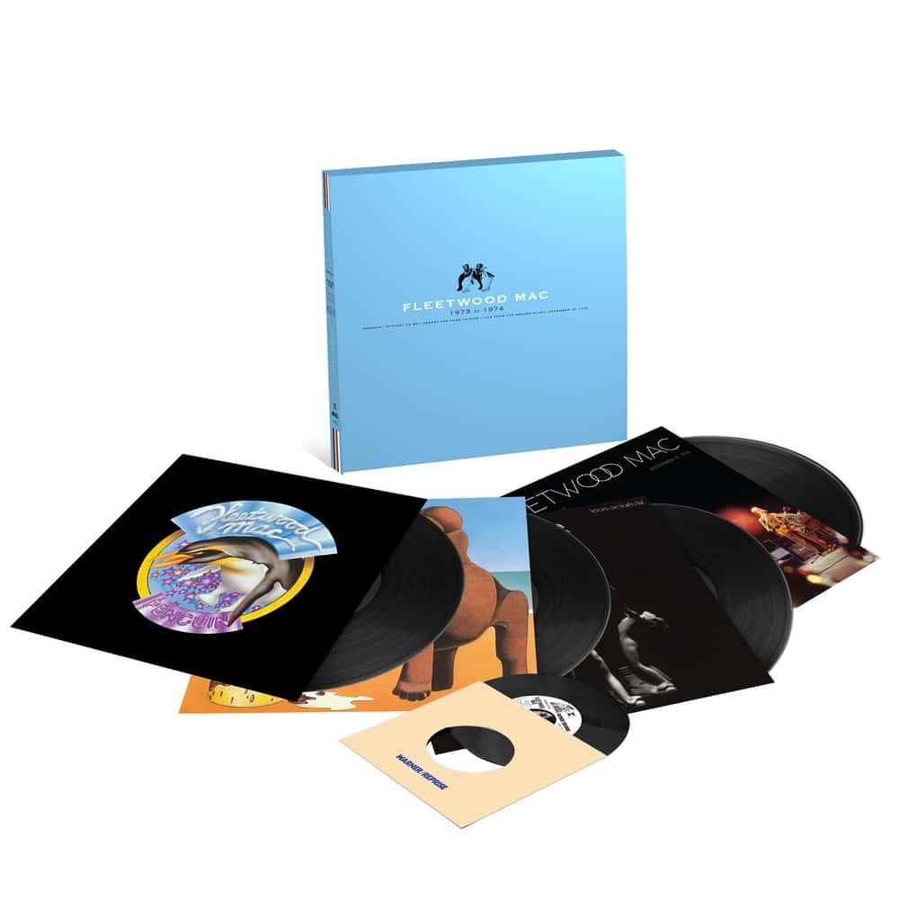 """Fleetwood Mac 1973-1974 4LP + 7"""" Single Boxset"""