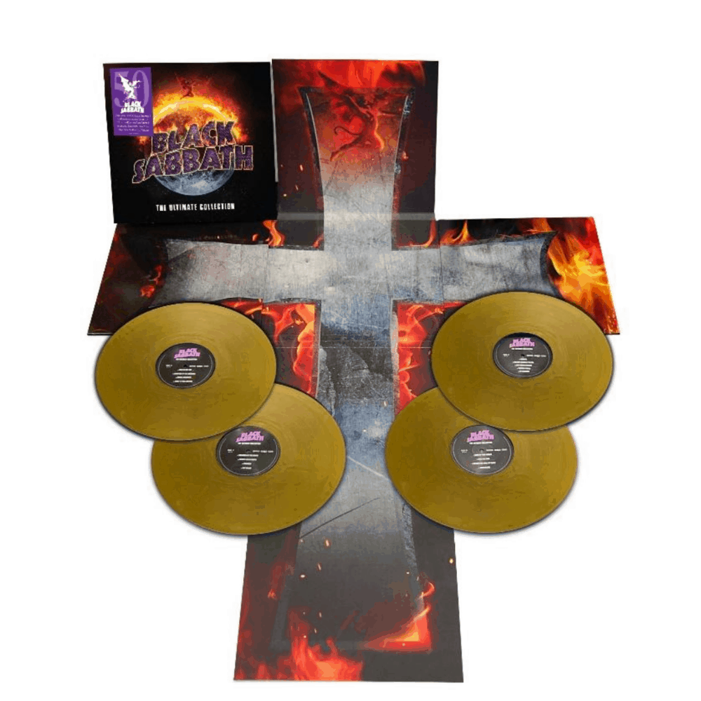 Buy Online Black Sabbath - The Ultimate Collection 4LP Gold