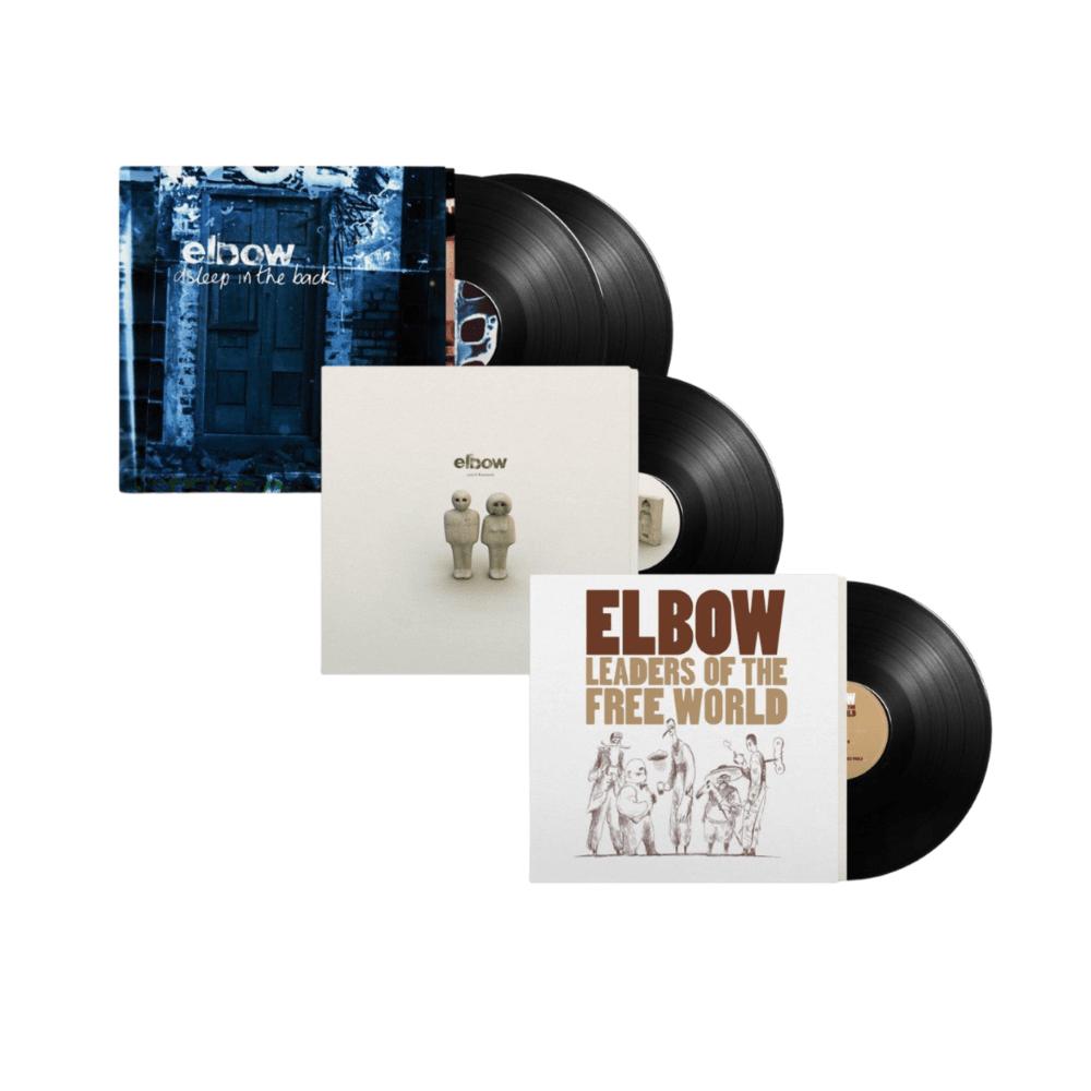 Buy Online Elbow - First Three Albums: Vinyl Reissue Bundle