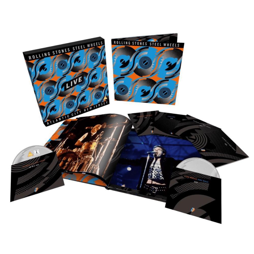 Buy Online The Rolling Stones - Steel Wheels Live 6-Disc