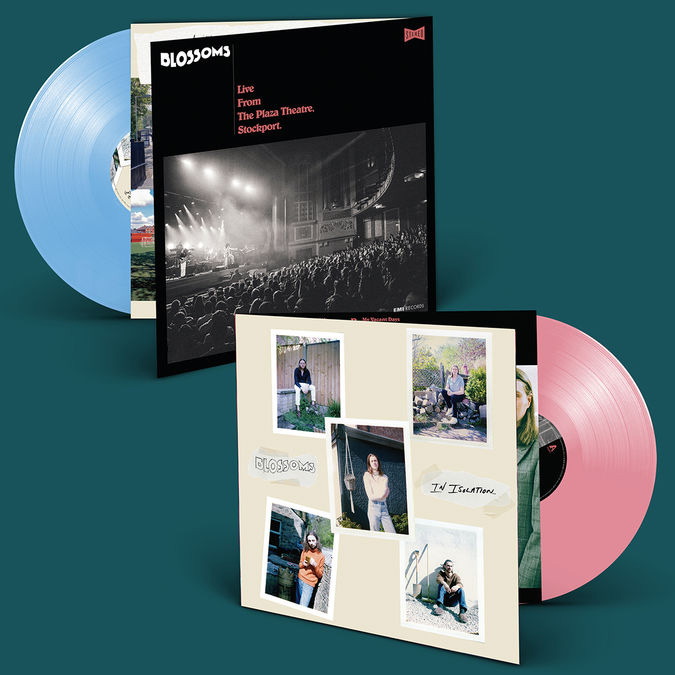 Buy Online Blossoms - Blossoms In Isolation/Live From The Plaza Theatre, Stockport Blue/Pink