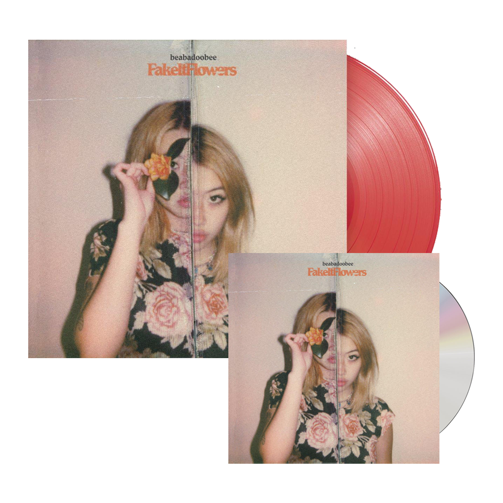 Fake It Flowers CD + Transparent Red Vinyl