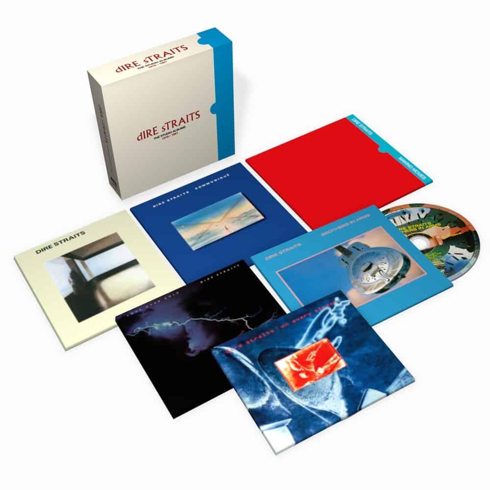 Buy Online Dire Straits - The Studio Albums 1978 - 1991 CD