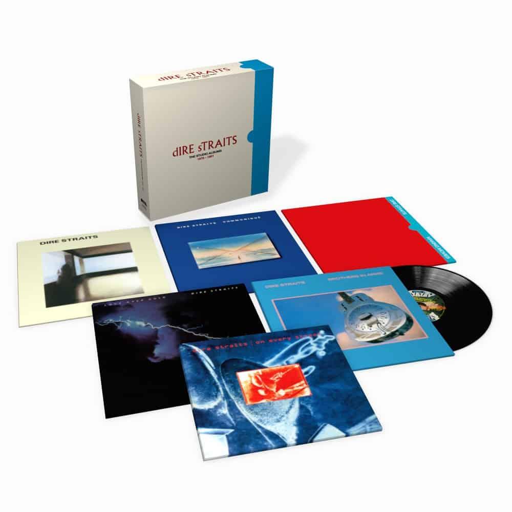 Buy Online Dire Straits - The Studio Albums 1978 - 1991 LP