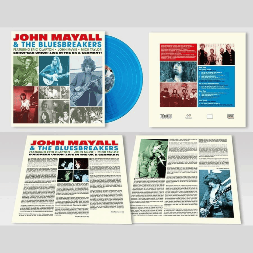 Buy Online John Mayall & The Bluesbreakers - European Union (Live In The UK & Germany) Blue
