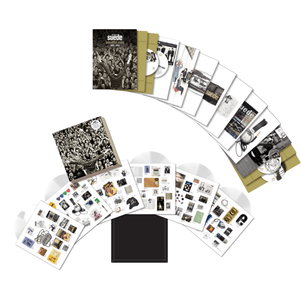 Beautiful Ones: The Best Of Suede 1992 - 2018 6LP White Vinyl + 4CD Boxsets