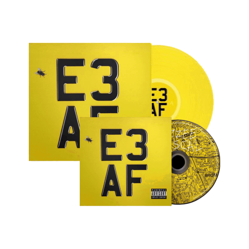 Buy Online Dizzee Rascal - E3 AF Limited Edition Yellow Vinyl + CD