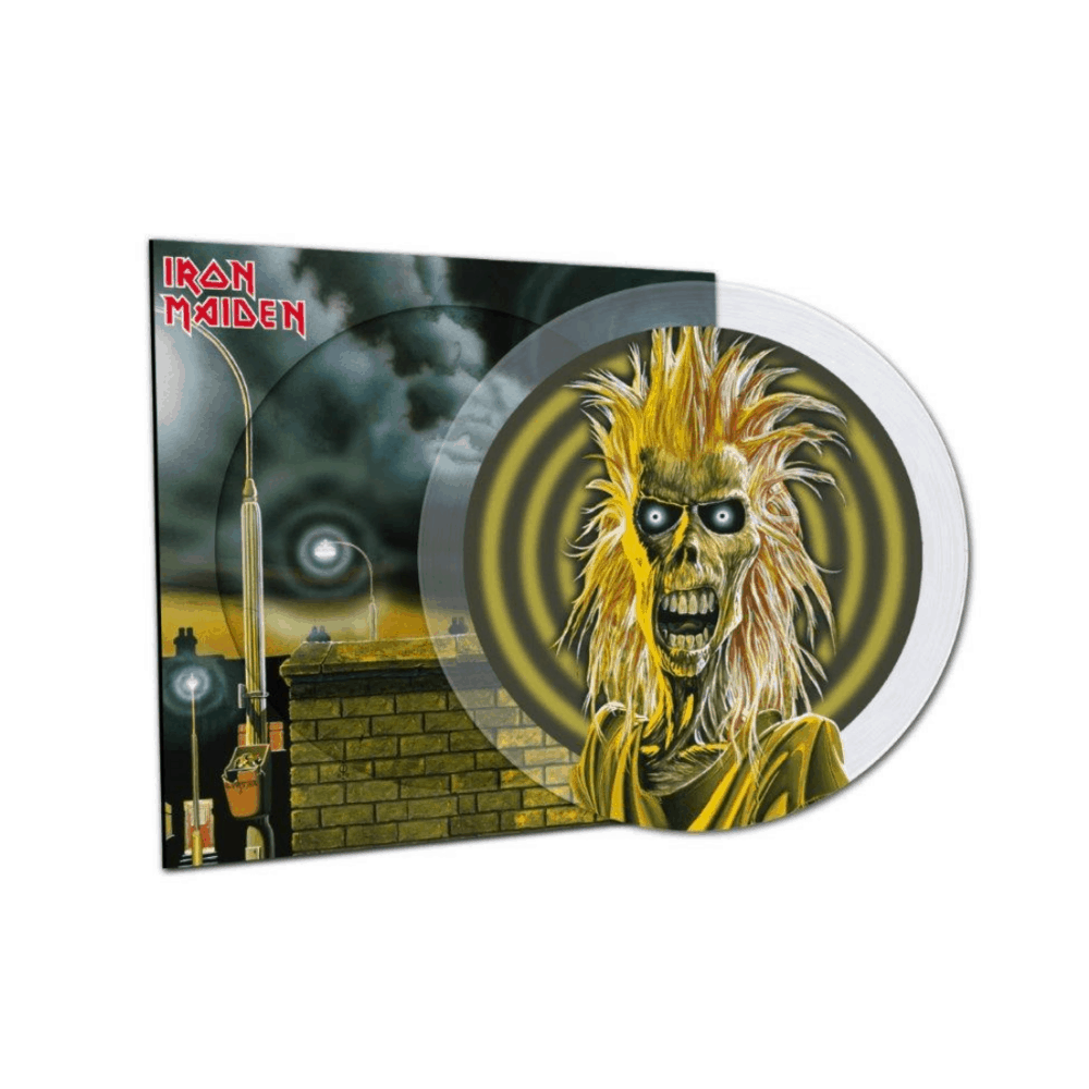 Buy Online Iron Maiden - Iron Maiden Clear Picture Disc