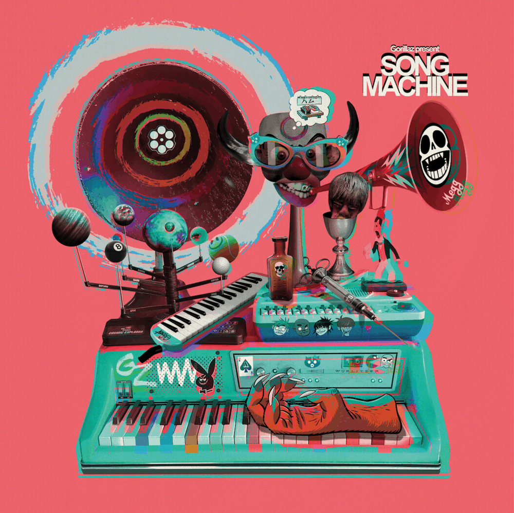 Song Machine: Season One - Strange Timez Deluxe Double Vinyl Boxset + Limited Edition Neon Orange Vinyl