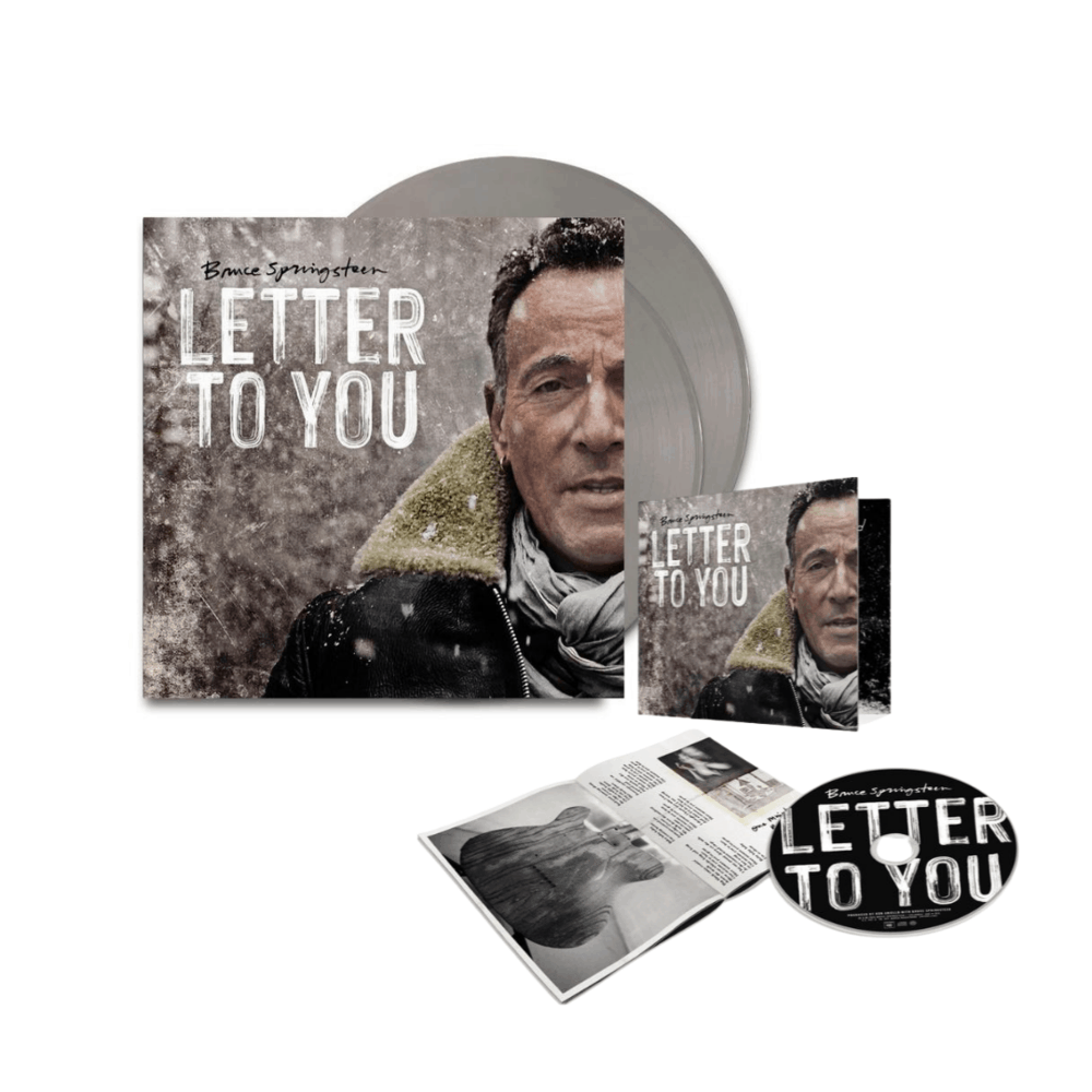 Buy Online Bruce Springsteen - Letter To You Limited Edition Grey Double Vinyl + CD