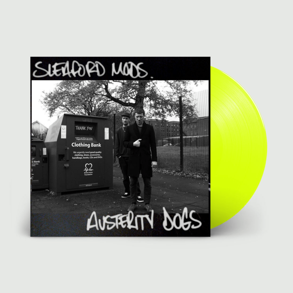 Austerity Dogs Neon Yellow  Vinyl