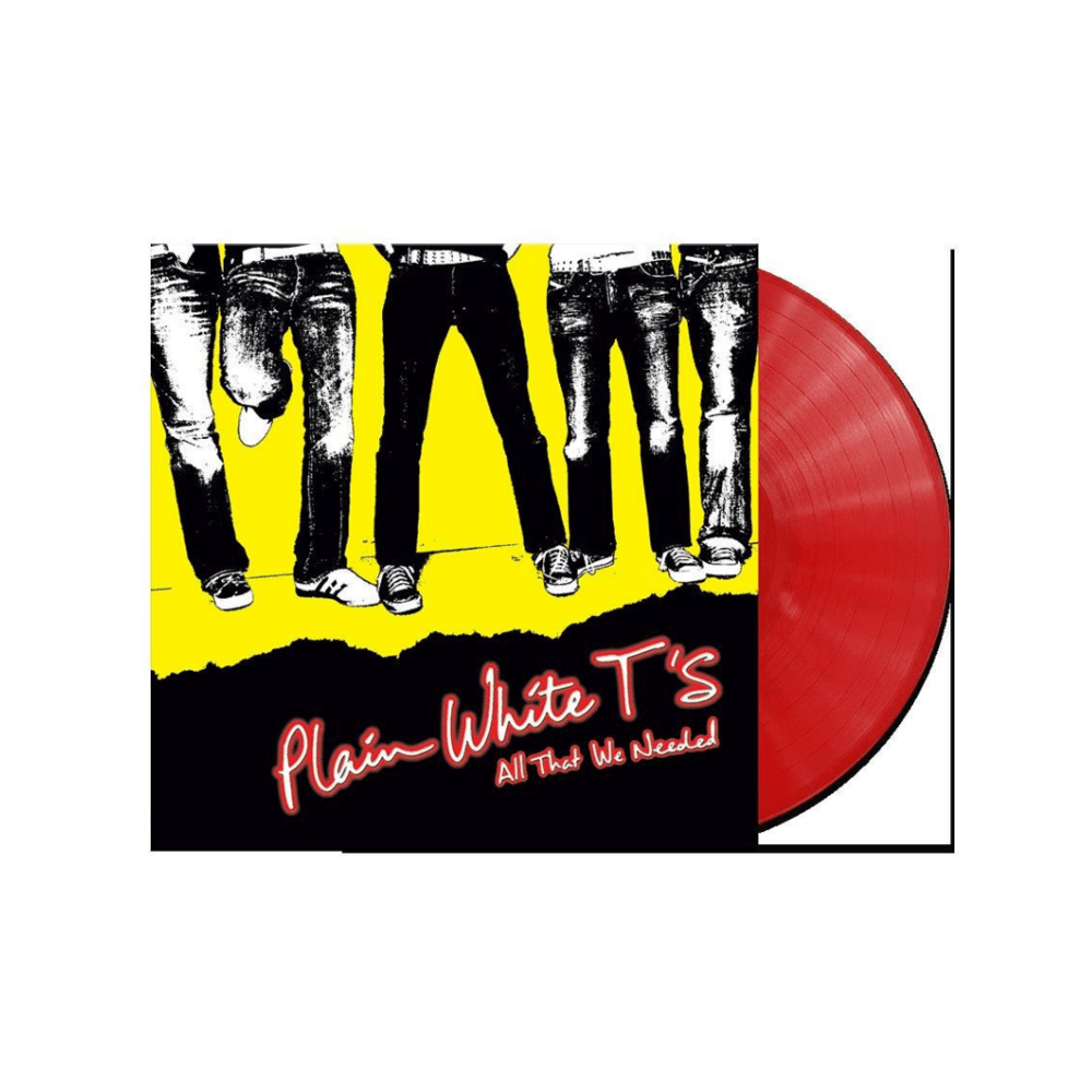 Buy Online Plain White T's  - All That We Needed Red