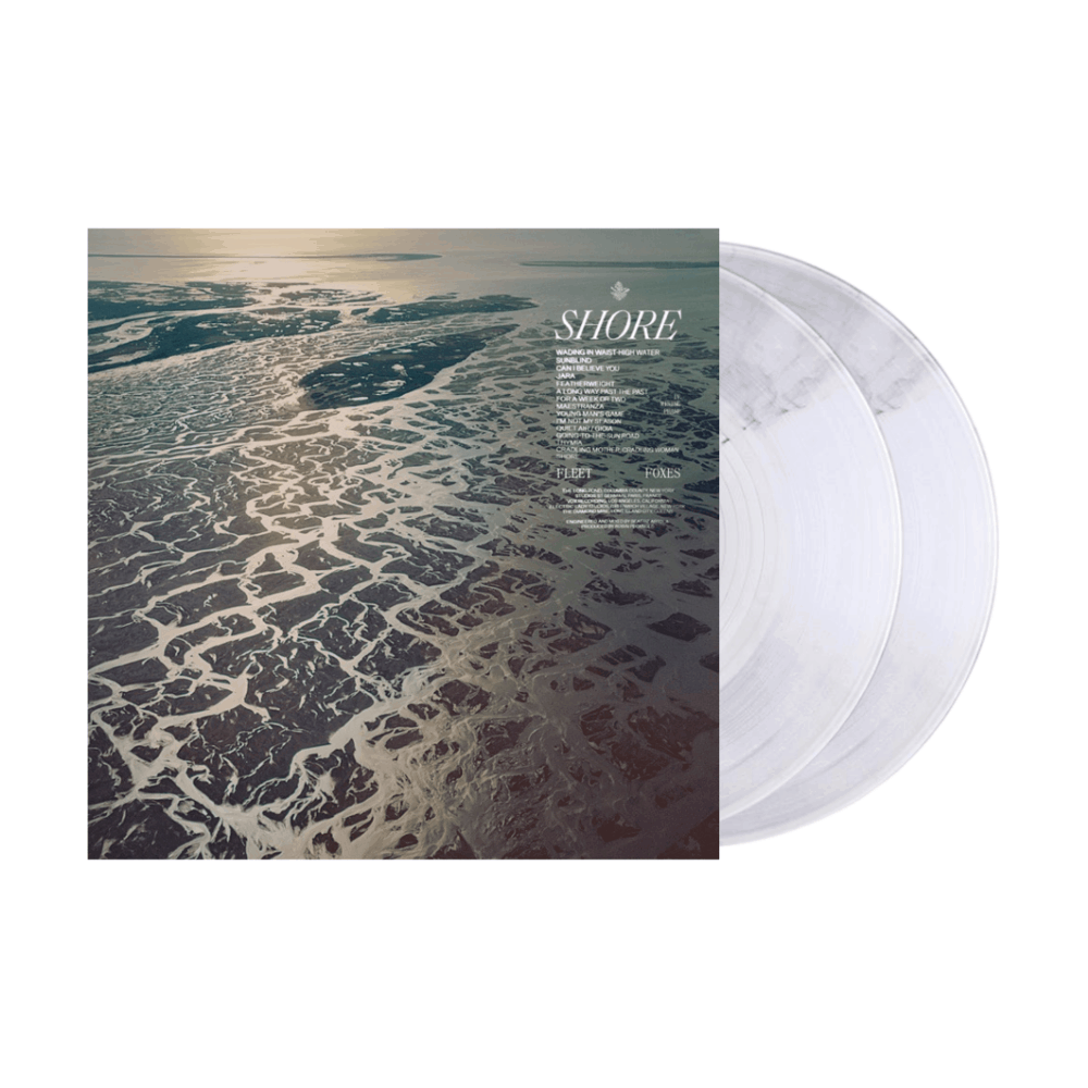 Shore Crystal Clear  Double Heavyweight Vinyl