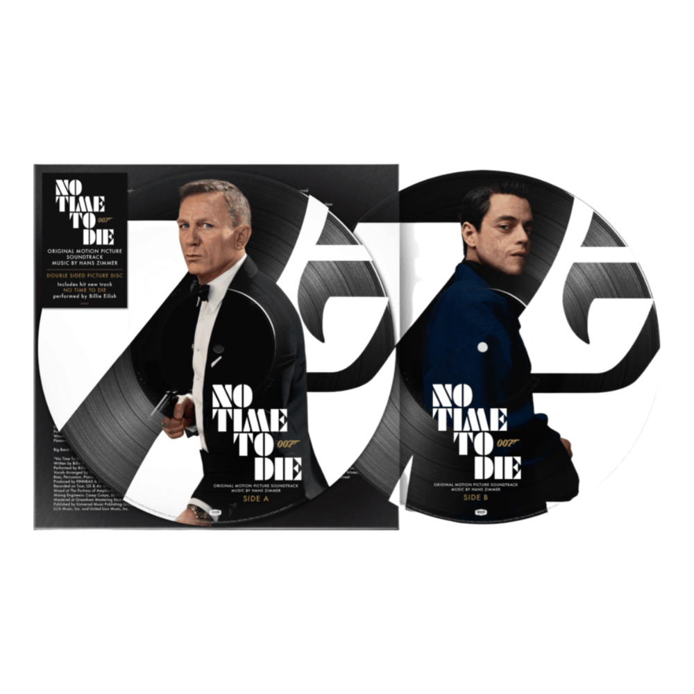 Buy Online Hans Zimmer - No Time to Die OST Picture Disc