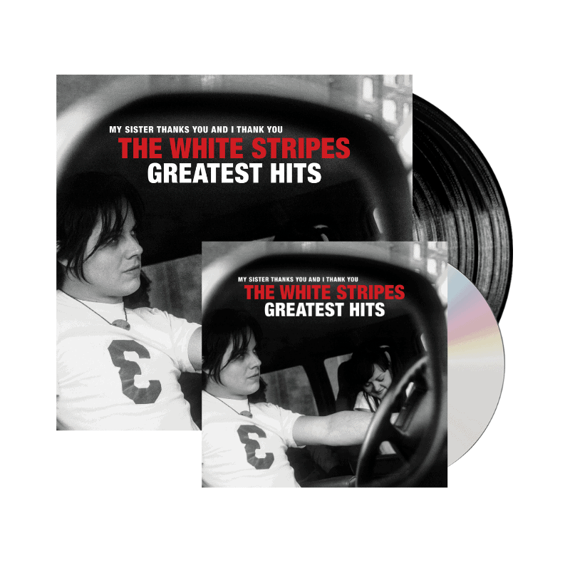 Buy Online The White Stripes - The White Stripes Greatest Hits Double VInyl + CD