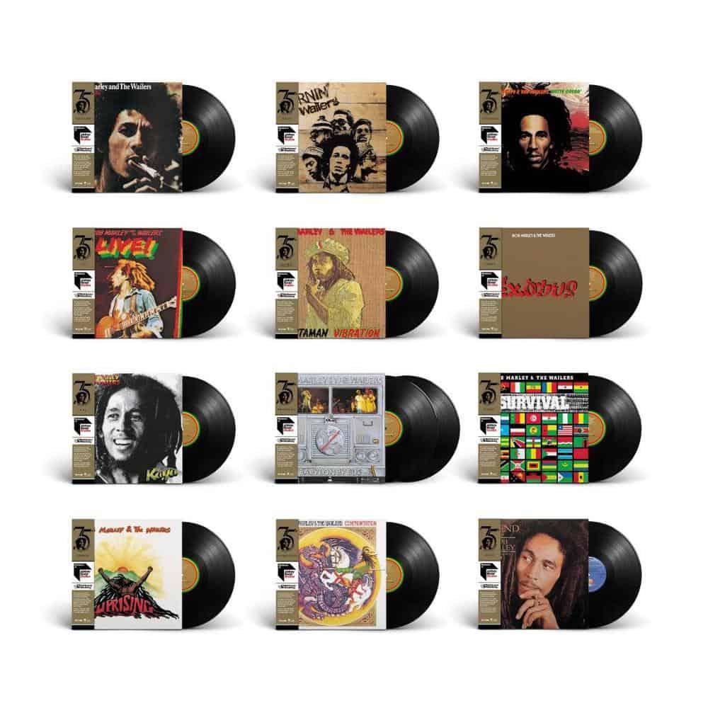 Buy Online Bob Marley & The Wailers - Half-Speed Mastered Vinyl Bundle