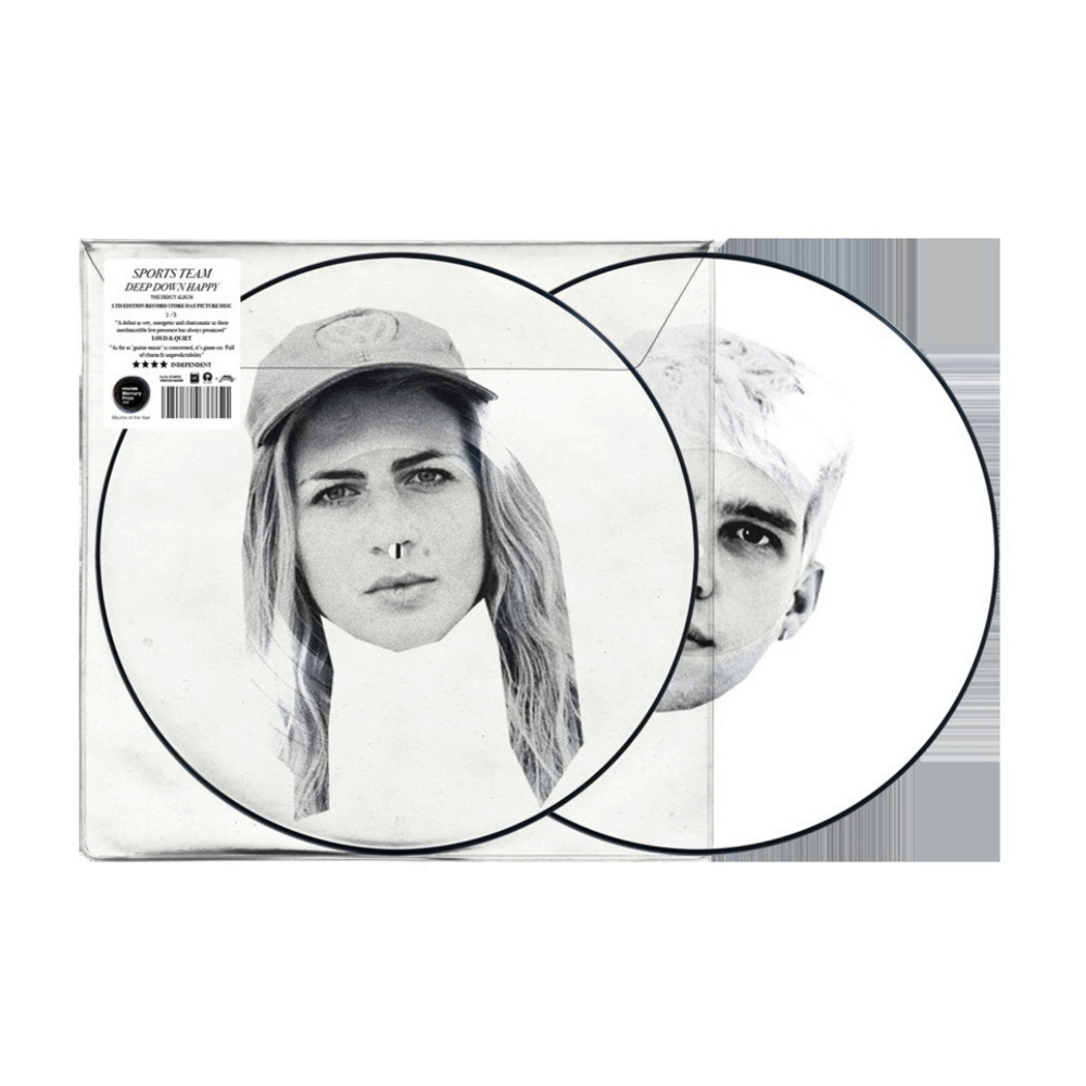 Deep Down Happy RSD 2020 Picture Disc Vinyl