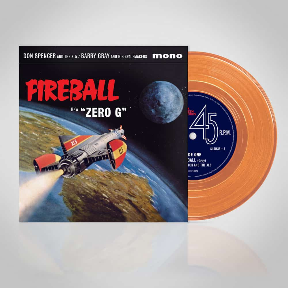 Buy Online Barry Gray - Fireball XS5 OST Orange
