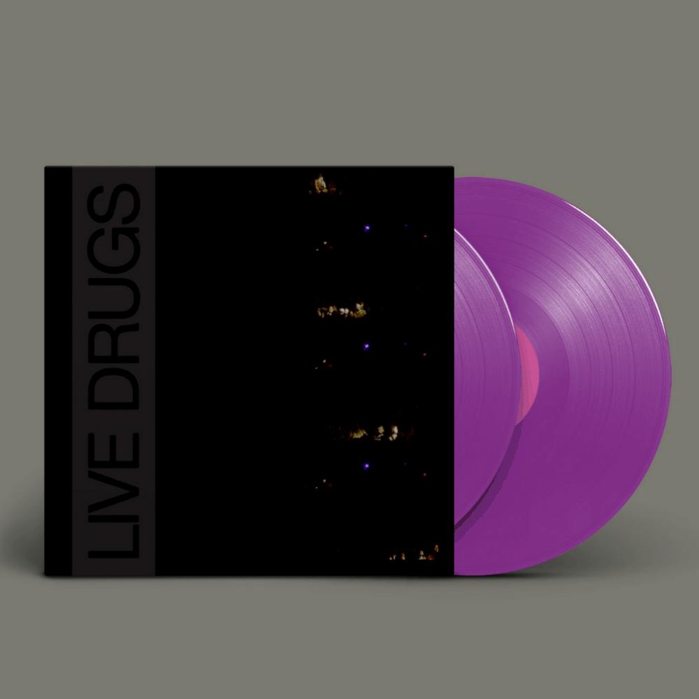 LIVE DRUGS Purple Double Vinyl