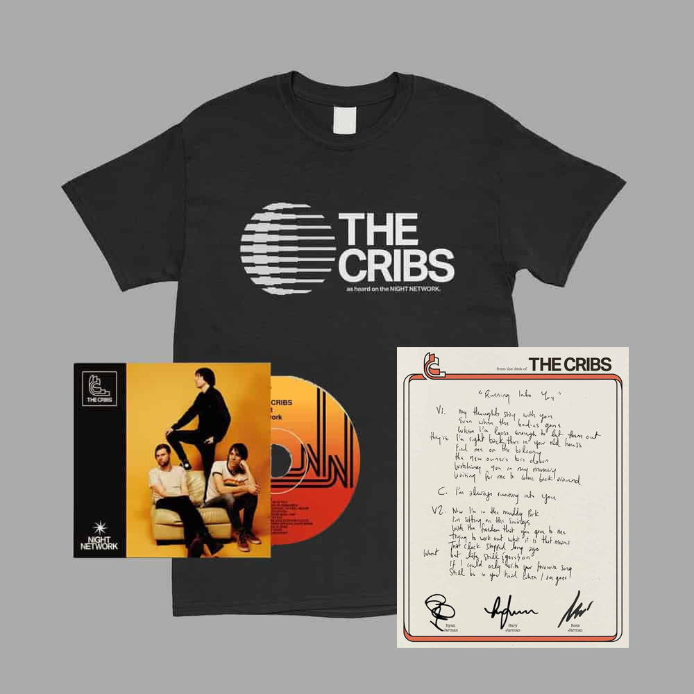 Night Network CD + Exclusive T-Shirt + Lyric Sheet