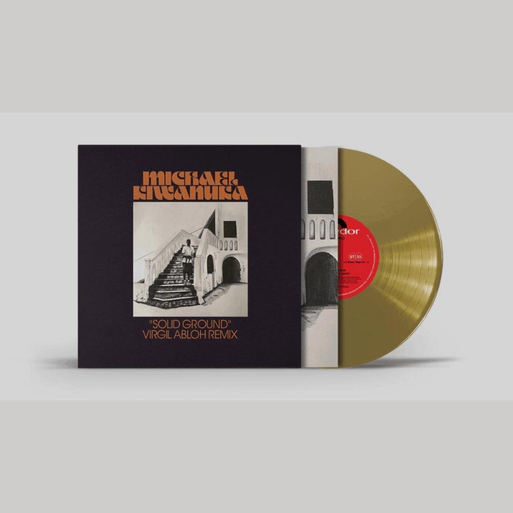 Solid Ground (Virgil Abloh Remix) Gold 10 Inch Vinyl