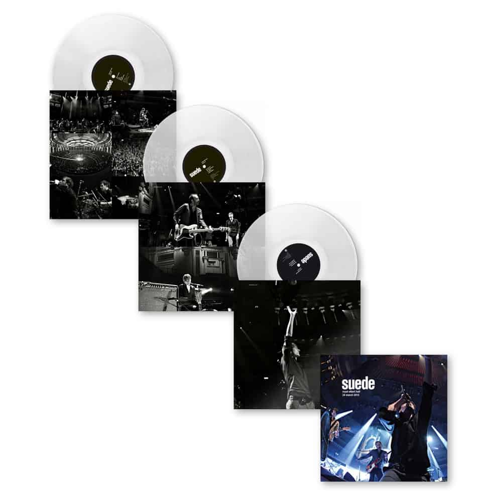 Royal Albert Hall - 24th March 2010 Clear Triple Heavyweight Vinyl