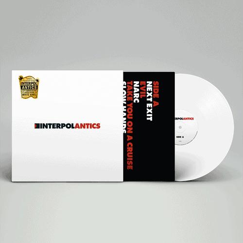 Buy Online Interpol - Antics 15th Anniversary Edition White