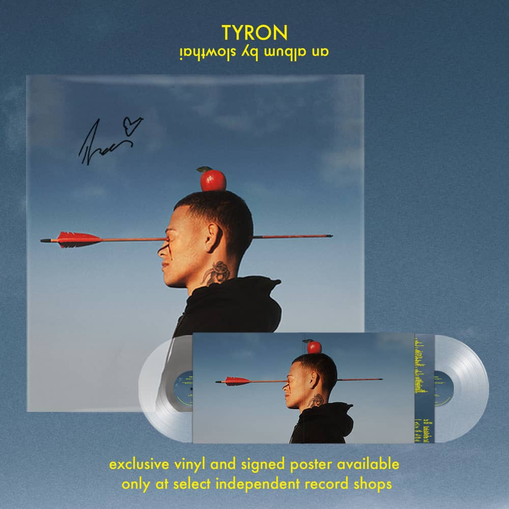 TYRON Transparent  Double Vinyl