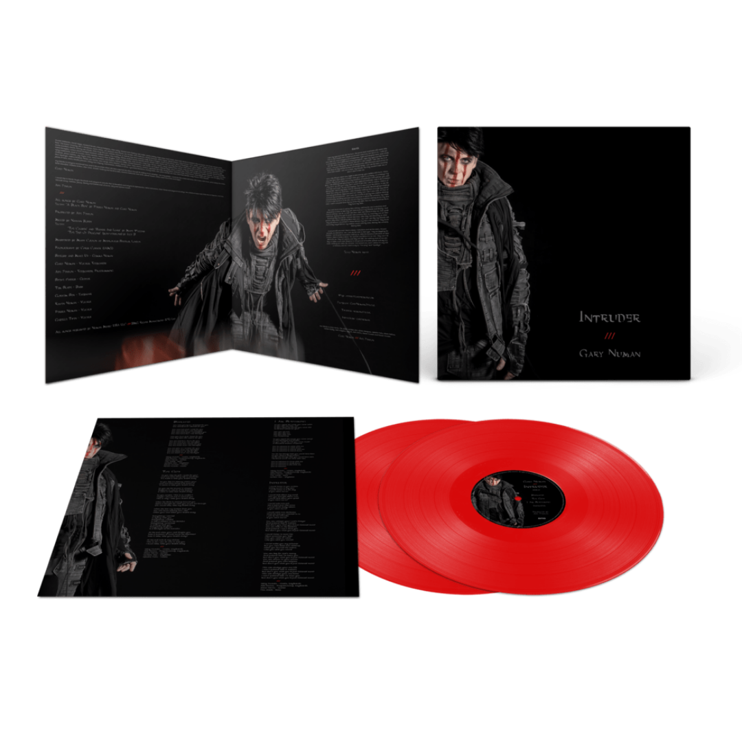 Buy Online Gary Numan - Intruder Limited Edition Red