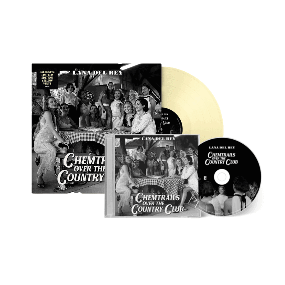 Chemtrails Over The Country Club Limited Edition Yellow Vinyl + CD