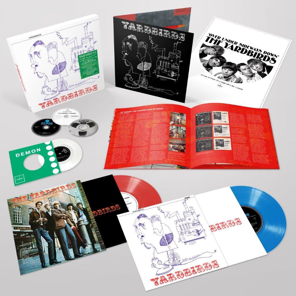 Buy Online The Yardbirds - The Yardbirds (Roger The Engineer) Super Deluxe Limited Edition