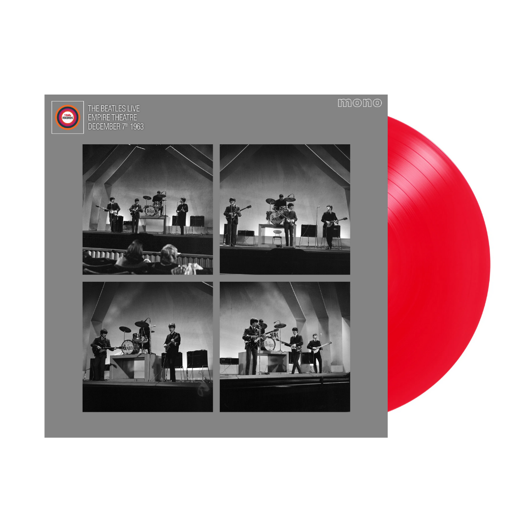 Buy Online The Beatles - Live at the Liverpool Empire 7th December 1963 Limited Edition Red