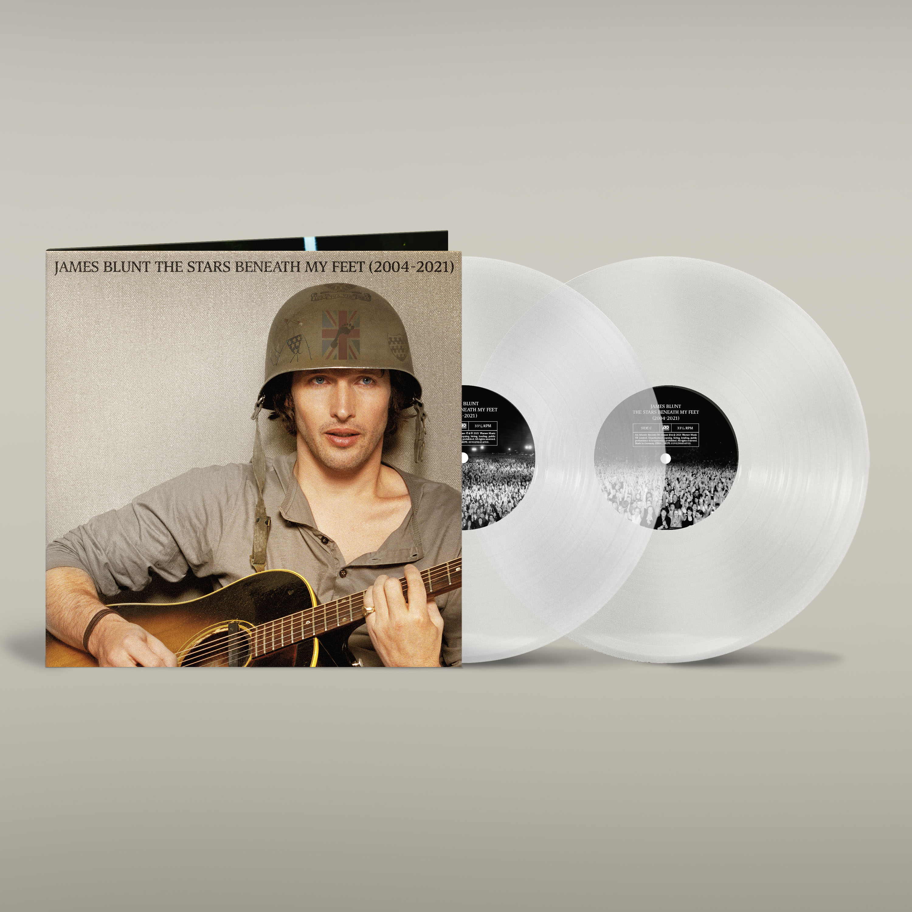 Buy Online James Blunt - The Stars Beneath My Feet (2004 - 2021) Limited Edition Clear