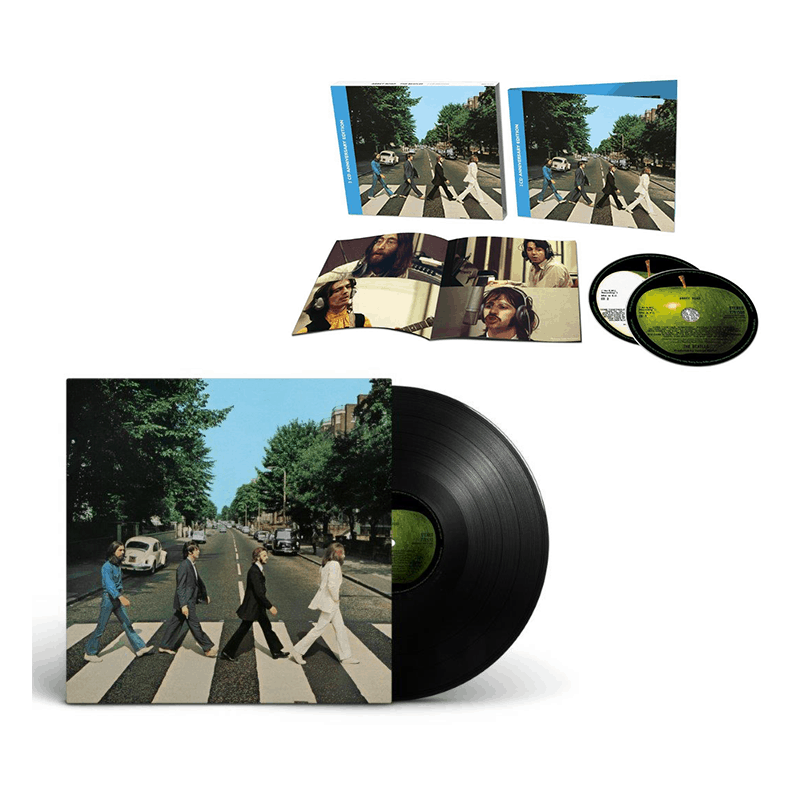 Abbey Road 50th Anniversary Vinyl + Deluxe CD