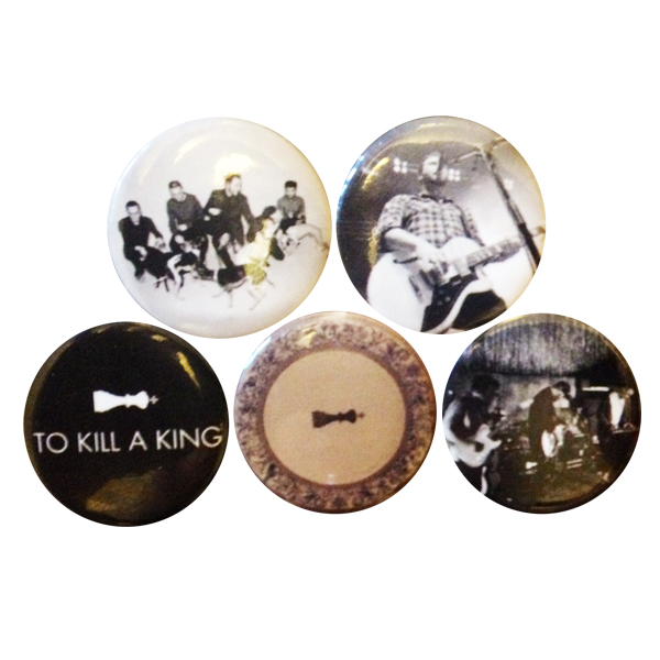 Buy Online To Kill A King - Badges