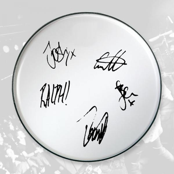 Buy Online To Kill A King - Signed Drum Head