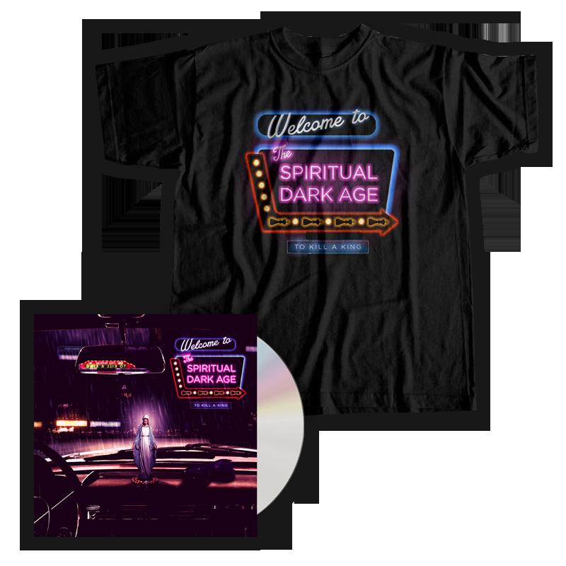 Buy Online To Kill A King - The Spiritual Dark Age CD + T-Shirt