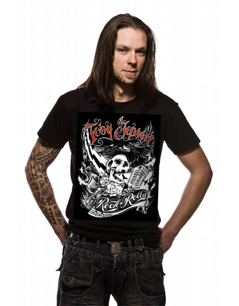 Buy Online Toby Jepson - Rock N Rolla Tour Black T-Shirt